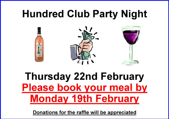 Hundred Club Party Night